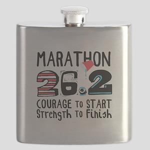 Marathon Courage Flask
