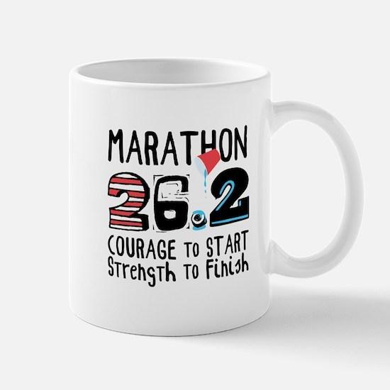 Marathon Courage Mugs