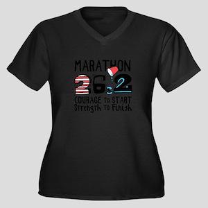 Marathon Courage Plus Size T-Shirt
