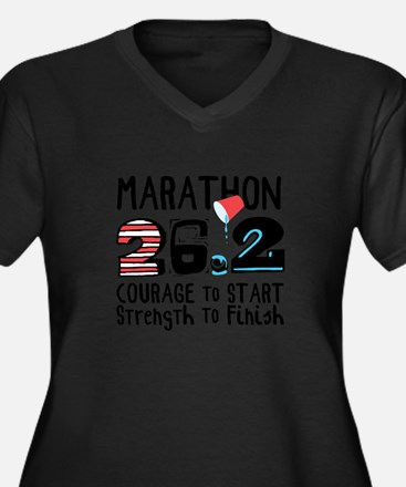 Marathon Courage Plus Size T-Shirt