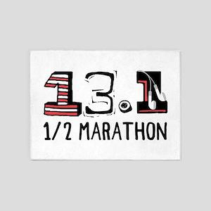 1/2 Marathon 5'x7'Area Rug