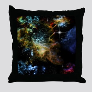 Awesome universe Throw Pillow