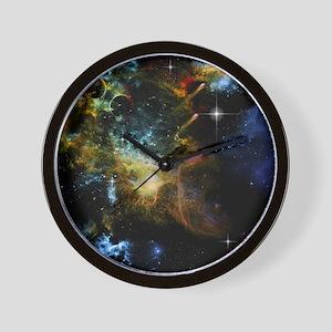 Awesome universe Wall Clock