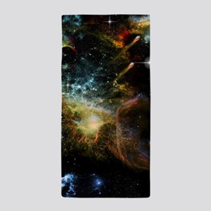 Awesome universe Beach Towel