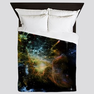 Awesome universe Queen Duvet