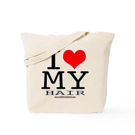 I LUV MY HAIR Tote Bag
