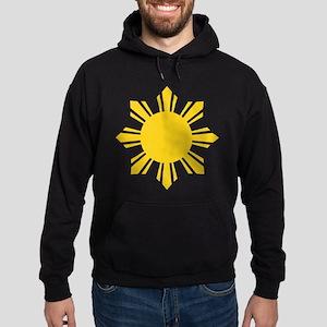 philippines sun Hoodie (dark)