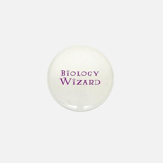 Biology Wizard Mini Button