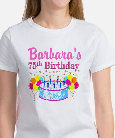 75TH CELEBRATION Women's T-Shirt