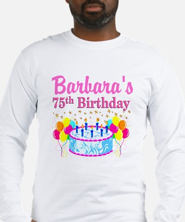 75TH CELEBRATION Long Sleeve T-Shirt