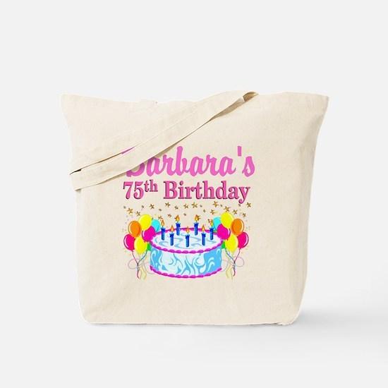 75TH CELEBRATION Tote Bag