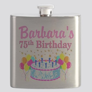 75TH CELEBRATION Flask