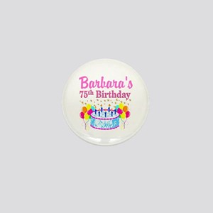 75TH CELEBRATION Mini Button
