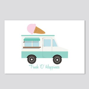 Truck O Happiness Postcards (Package of 8)