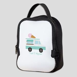 Truck O Happiness Neoprene Lunch Bag