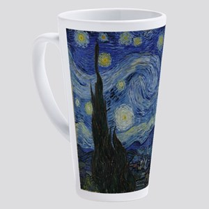Vincent Van Gogh Starry Night 17 oz Latte Mug
