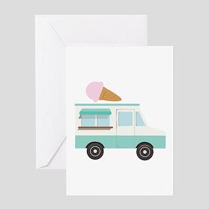 Ice Cream Truck Greeting Cards
