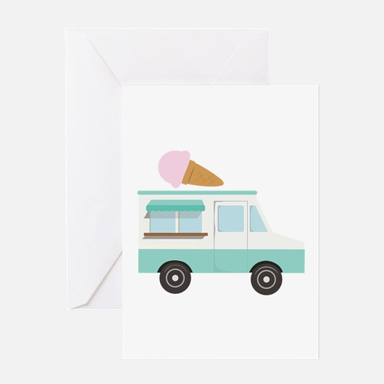 Ice Cream Truck Greeting Cards