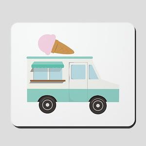 Ice Cream Truck Mousepad
