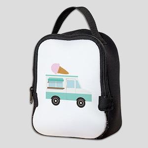 Ice Cream Truck Neoprene Lunch Bag