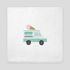 Ice Cream Truck Queen Duvet