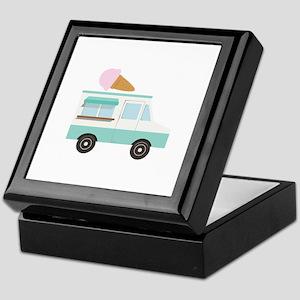 Ice Cream Truck Keepsake Box