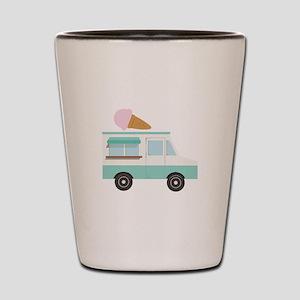 Ice Cream Truck Shot Glass