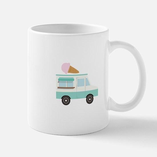 Ice Cream Truck Mugs