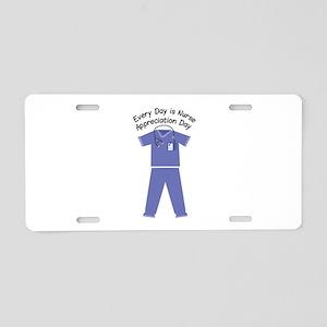Nurse Appreciation Day Aluminum License Plate