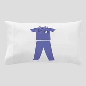 Blue Scrubs Pillow Case
