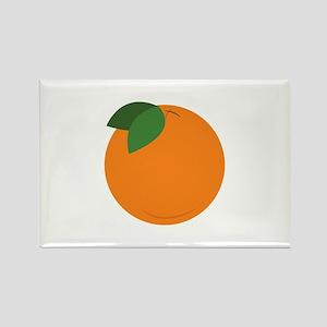 Round Orange Magnets