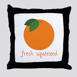 Fresh Squeezed Throw Pillow