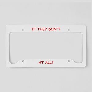 kinky License Plate Holder