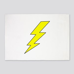 LIGHTENING BOLT 5'x7'Area Rug