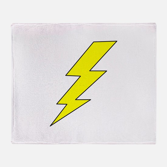 LIGHTENING BOLT Throw Blanket