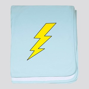 LIGHTENING BOLT baby blanket