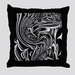 Floral Fantasy 09 Throw Pillow