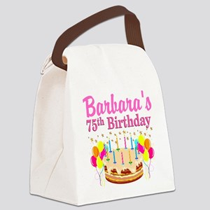 75TH CELEBRATION Canvas Lunch Bag