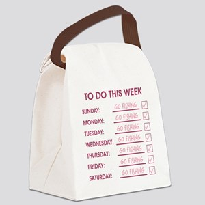 TO DO THIS WEEK Canvas Lunch Bag