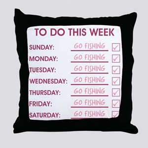 TO DO THIS WEEK Throw Pillow