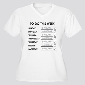 TO DO THIS WEEK Women's Plus Size V-Neck T-Shirt