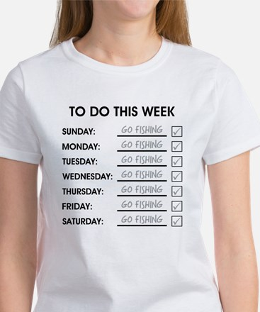 TO DO THIS WEEK Women's T-Shirt