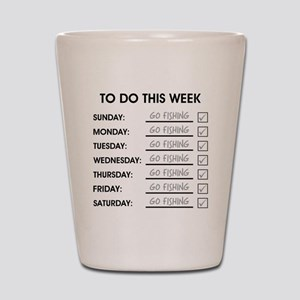 TO DO THIS WEEK Shot Glass