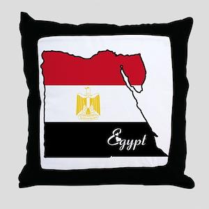 Cool Egypt Throw Pillow