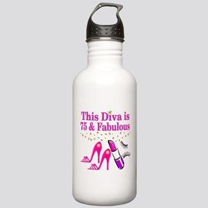 75 AND FABULOUS Stainless Water Bottle 1.0L