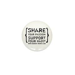 Share Your Passion Mini Button