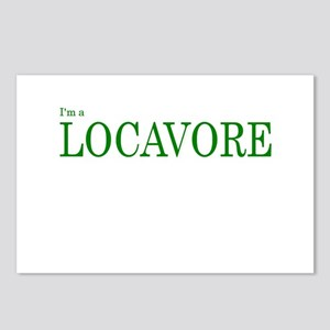 I'm a Locavore Postcards (Package of 8)