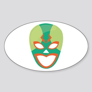 Wrestler Mask Sticker