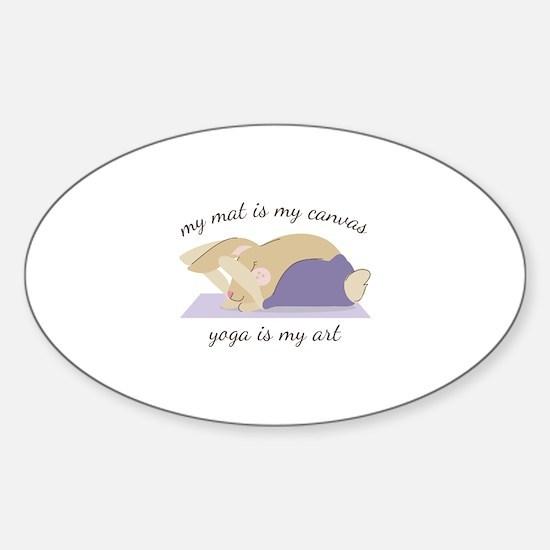 Yoga Art Decal