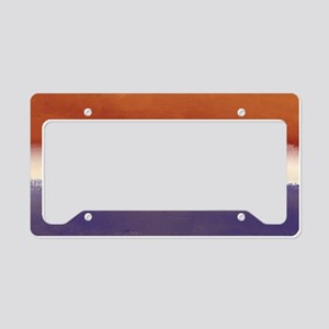 Red, White, and Blue with Gol License Plate Holder